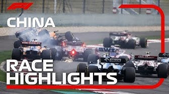 2019 Chinese Grand Prix: Race Highlights