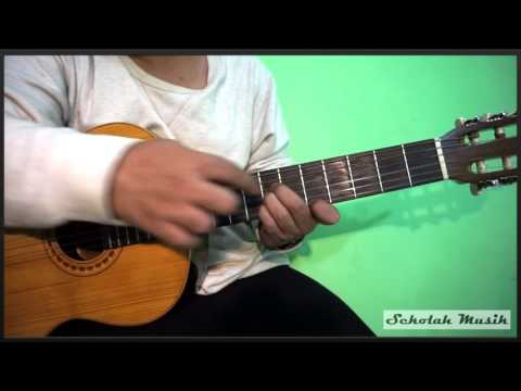 Belajar Kunci / Chord Balok Dangdut Sederhana