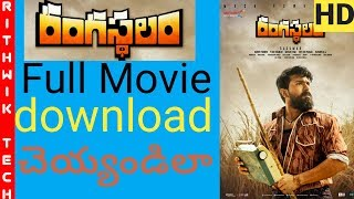 How to download Rangasthalam full movie in Hd