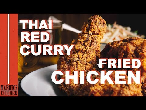 Thai Red Curry Fried Chicken