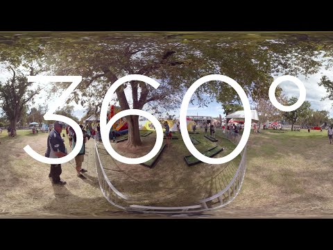 360° VIDEO - Clipsal 500 Adelaide - RAA Family Fun Zone