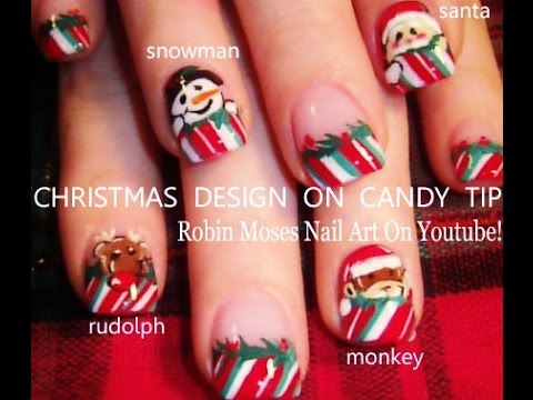 5 diy xmas nail art tutorials easy christmas nails design youtube 5 diy xmas nail art tutorials easy christmas nails design prinsesfo Choice Image