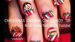 5 Nail Art Tutorials | Diy Easy Christmas Designs | Xmas Nails