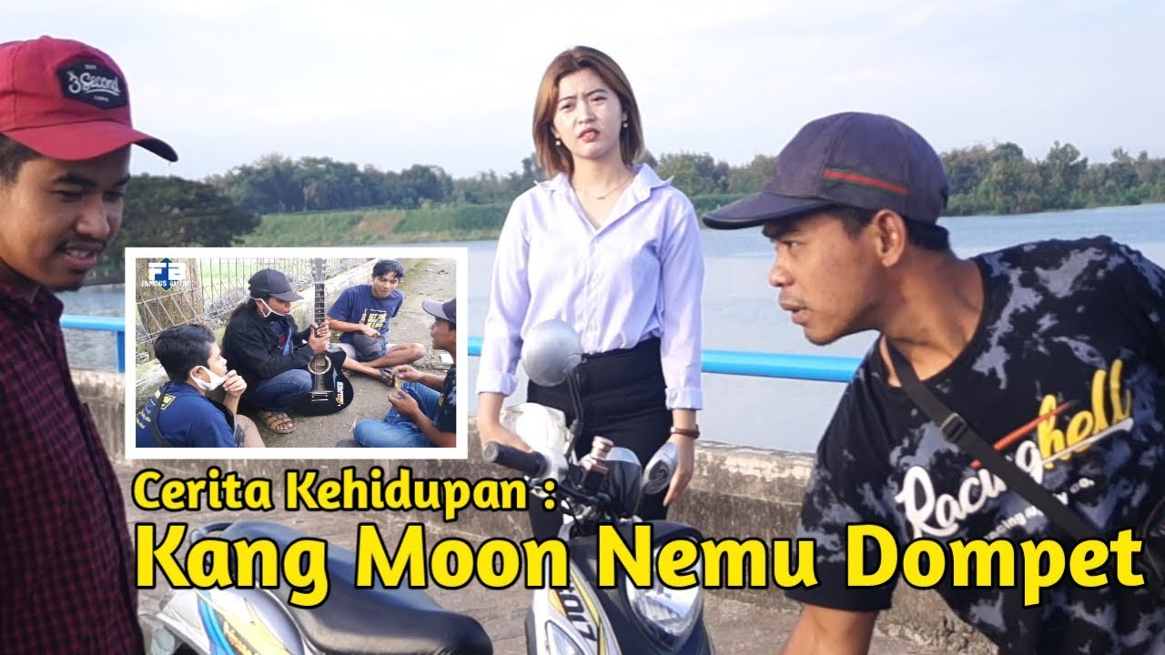 "Cerita kehidupan ""kang moon nemu dompet"""