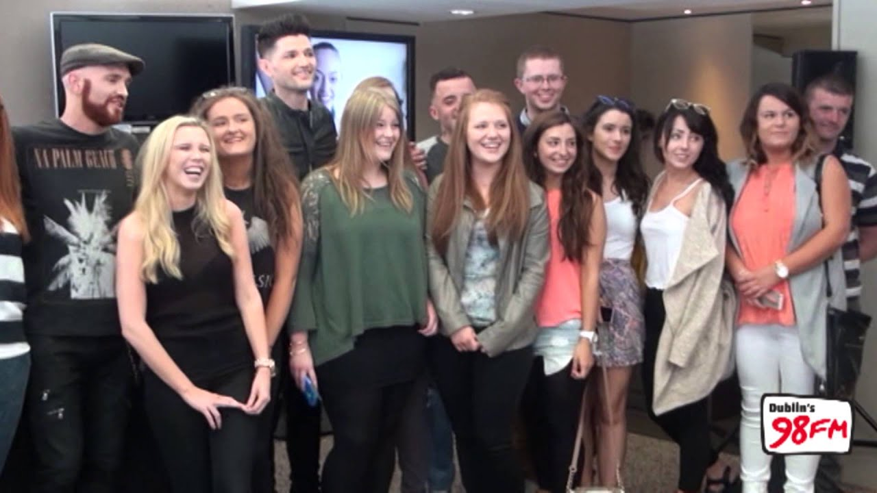 The Script Meet And Greet With 98fm Listeners Youtube