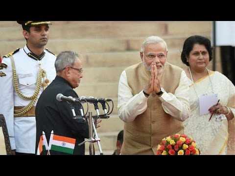 Narendra Modi Sworn in as 15th PM with 24 Cabinet Ministers