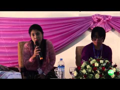 Women Rights and Leadership Forum in Yangon