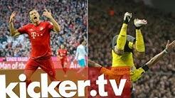 Der Kampf um die kicker-Torjägerkanone - kicker.tv