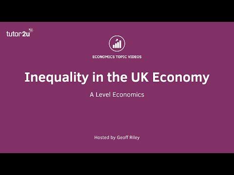 Inequality in the UK Economy