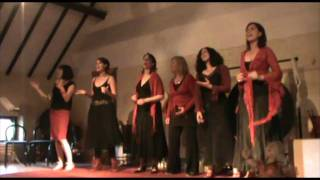 """Bahleli bonke"" by Keruna, concert @ Erpe-Mere (Belgium) in may 2011)"