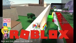 Boys and Girls Dance Club! ROBLOX