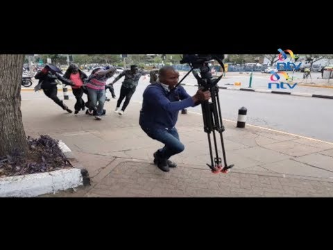 Meet journalist Victor Muyakane, the man who rescued a beggar from bees attack at Supreme Court