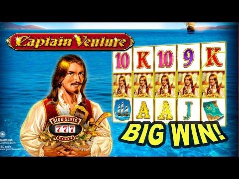 BIG WIN on Captain Venture Slot - £4 Bet!