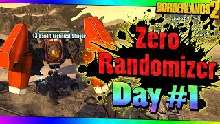 Borderlands 2 | Zero Super Randomizer | Day #1