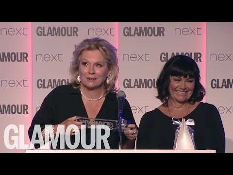 Jennifer Saunders and Dawn French Acceptance Speech | Women of The Year Awards 2016 | Glamour UK