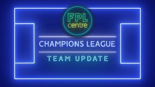 UCL Fantasy - Team Update & Transfers - Fantasy Champions League