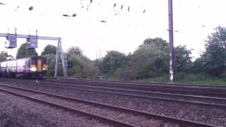 5G55 Empty Northern Rail DMU Depot Move Class 150/2 and 142 5/5/13 Video 2