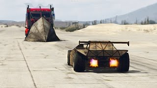 GTA 5 - RAMP CAR VS PHANTOM TRUCK