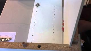 Wall cabinet assembly Euro-Rite Cabinets