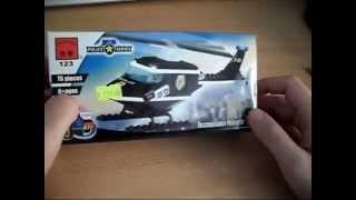 Обзор Китайского Lego # 5 - Полицейский вертолет (Police series)(Brick 123 - Reconnaissance Helicopter Плэйлист с другими обзорами: ..., 2014-08-01T16:29:40.000Z)