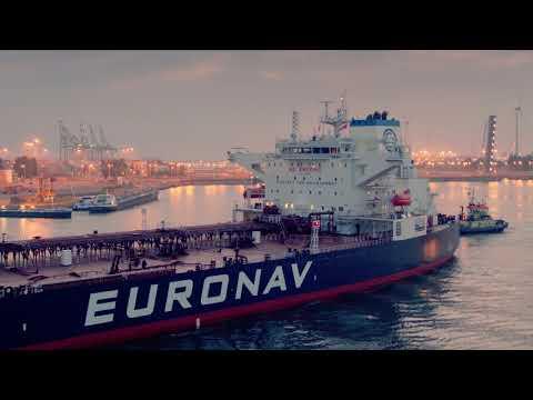 Euronav Cap Quebec entering Port of Antwerp