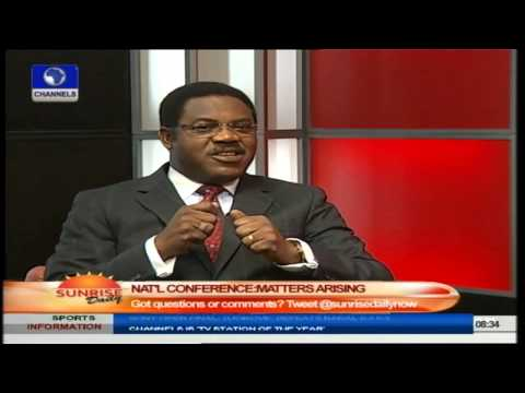 Nigerian Bar Association Won't Participate In National Conference - Adesina Pt.1