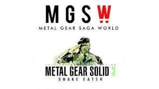 MGSW PODCAST - Episodio 14: Especial METAL GEAR SOLID 3