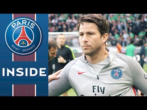 INSIDE - SAINT-ETIENNE VS PARIS SAINT-GERMAIN with Edinson Cavani, Thiago Silva, Kevin Trapp