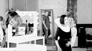 За кулисами съемки Allure «Дружба на волоске»