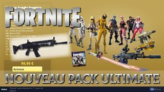 Fortnite - Nocturno? Big news! The return of the founding pack!!