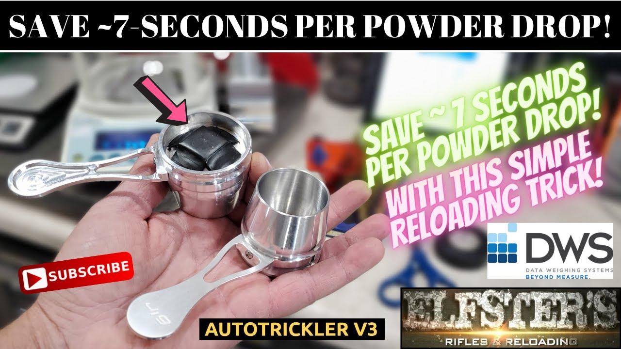 SIMPLE TRICK TO SAVE 7 SECONDS PER POWDER DROP!