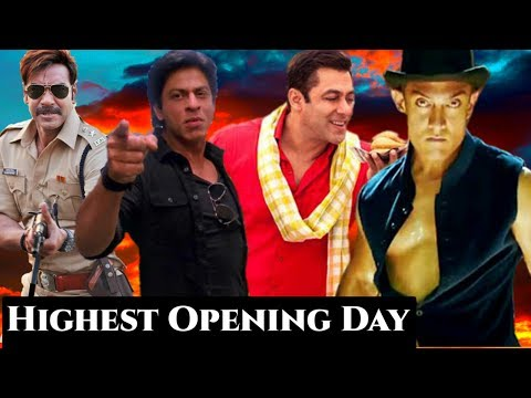 Top 10 Highest First Day Bollywood Movie Collection