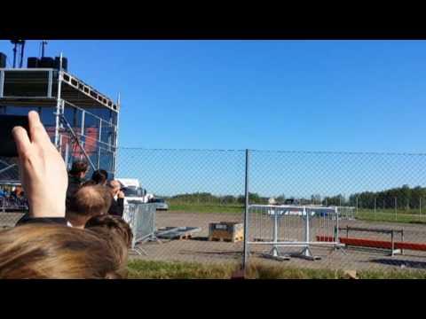 Kjeller Airshow 2017, F-16 fly by