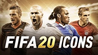 TOP 10 ICONS WE NEED IN FIFA 20 ULTIMATE TEAM