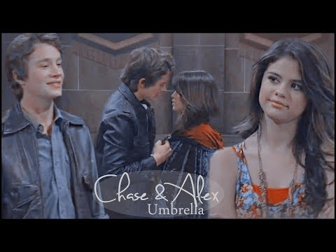 Alex & Chase  Umbrella wizards of waverly place