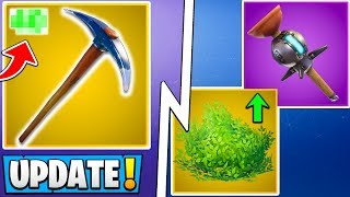 *ALL* Fortnite 7.40 Changes! | Bush Buff, Harvest Update, Free Battle Pass!