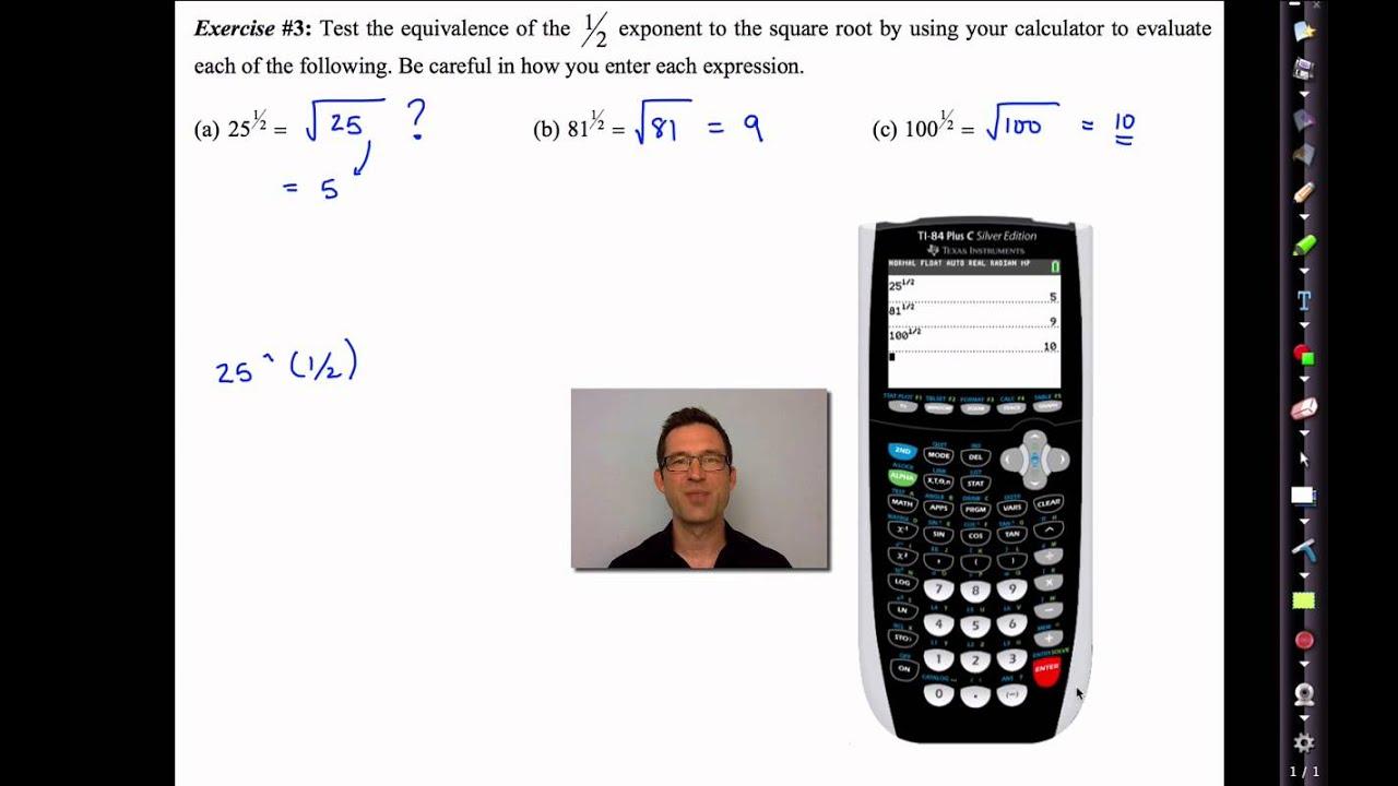 Common Core Algebra Ii Unit 4 Lesson 2 Rational Exponents