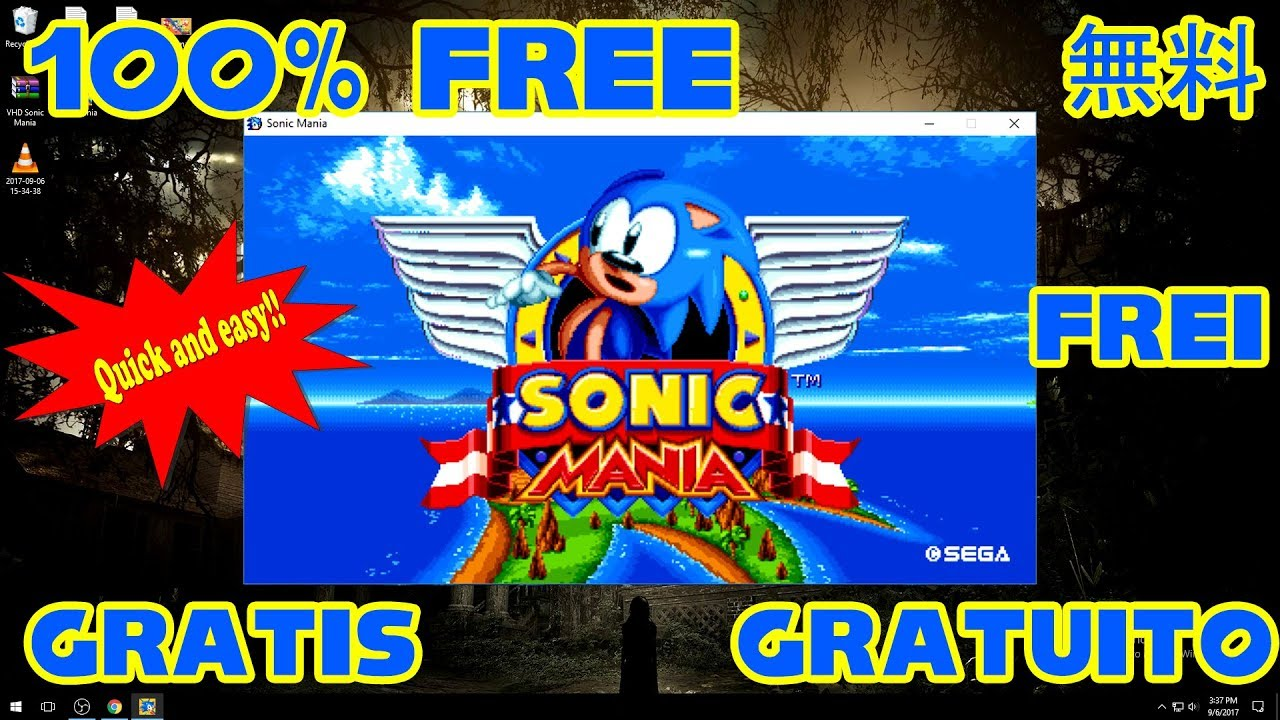 Sonic Mania PC Free Download  Tutorial 100 Quick  Easy