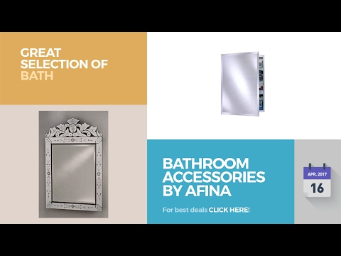 Bathroom Accessories By Afina Great Selection Of Bath Products