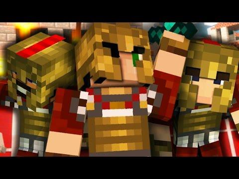 DISTRVGGIAMO I BLV NEL COLOSSEO DE ROMA - Minecraft ITA - EGGWARS W/ TearlessRaptor Tech4Play