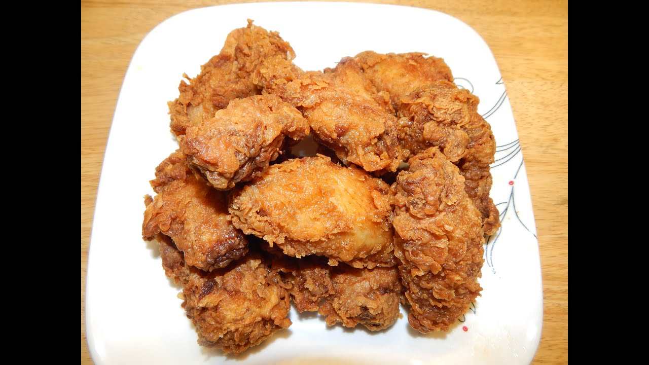 Southern fried chicken wings with cajun seasoning youtube forumfinder Choice Image