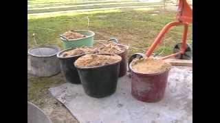 раствор для кладки стен /рецепт\(видео о том как готовить кладочный роствор., 2014-10-11T22:03:11.000Z)