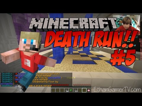 Ethan Plays Minecraft Deathrun 4 Kid Friendly Video