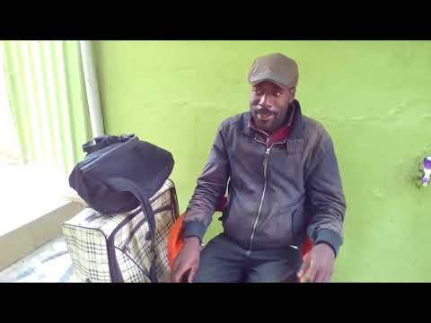 Uk-based Nigerian Man Seen Roaming The Streets, Shortly After Arriving Lagos