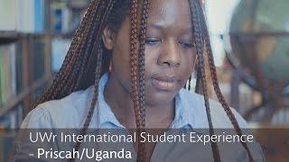 UWr International Student Experience - Priscah/Uganda