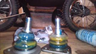 видео Замена нижнего шарового шарнира передней подвески на автомобиле ВАЗ 2106