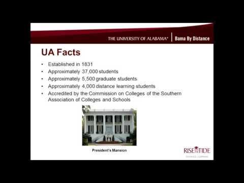 UA's Online Master of Science in HES General Studies