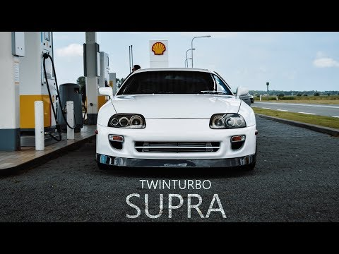 TOYOTA SUPRA TWIN TURBO |  4K VISUAL by THE X VISIONS