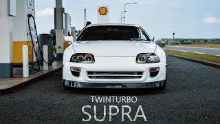 🔰 TOYOTA SUPRA TWIN TURBO |  4K VISUAL By THE X VISIONS