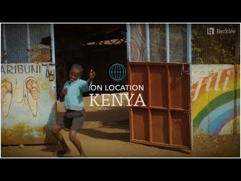 Berklee Cultural Exchange with Global Youth Groove in Kenya